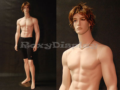 ROXYDISPLAY 2 Tan Skin Young Male mannequins. MD-HAM24-25
