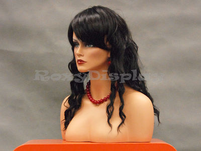 Mannequin Head Bust Wig Hat Jewelry Display #MEGAN