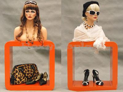 Mannequin Head Bust Wig Hat Jewelry Display #MEGAN