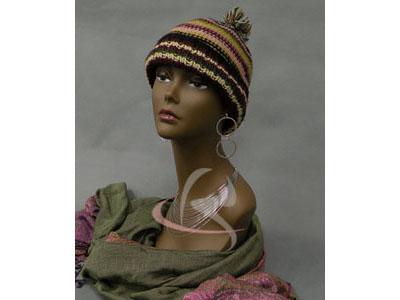 Mannequin Head Bust Wig Hat Jewelry Display BK #TinaB3